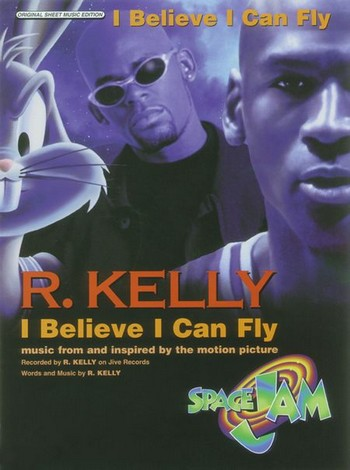 I believe I can fly: Einzelausgabe piano/voice/guitare