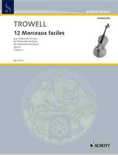 Trowell, Arnold - 12 morceaux faciles op.4