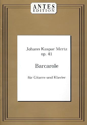 Barcarole: für Gitarre und Klavier