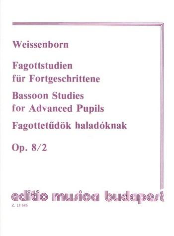 Weissenborn, Julius - Fagottstudien für Fortgeschrittene op.8,2