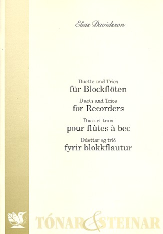 Duette und Trios: für Blockflöten (AA(A), AAB)