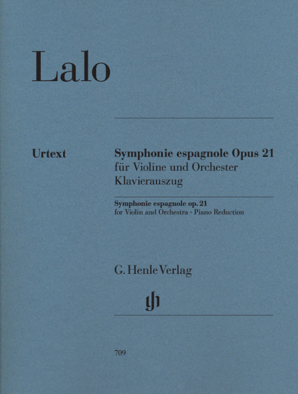 Lalo, Edouard Victor Antoine - Symphonie espagnole op.21 für Violine
