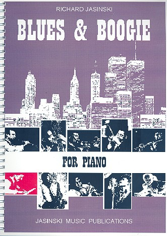 Blues and Boogie: 10 pieces for piano