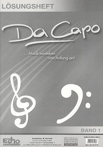 Da Capo Attacca: Lösungsheft zur Musikkunde 2