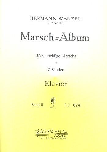 Marsch-Album Band 2: für Klavier