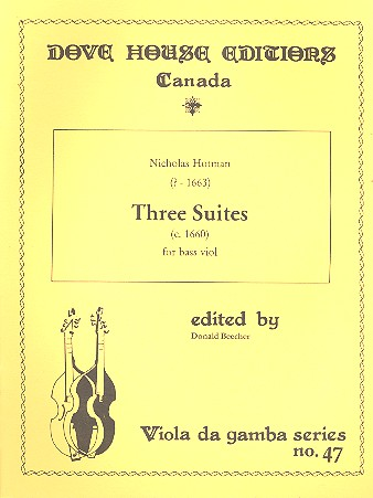 3 Suites: for bass viole