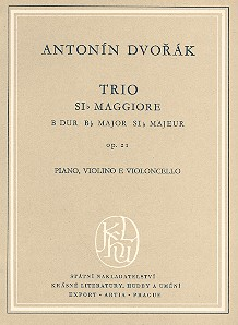 Klaviertrio B-Dur opus.21 Studienpartitur