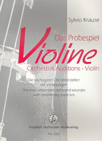 Krause, Sylvio - Das Probespiel Violine :