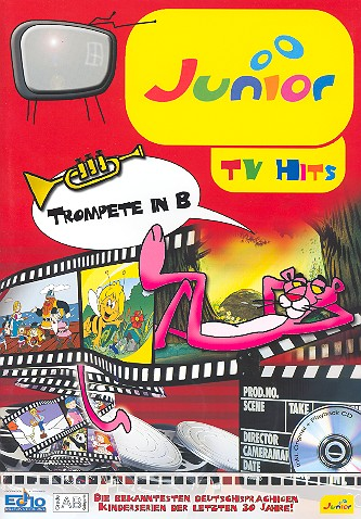 Junior TV Hits (+CD): für Trompete in B