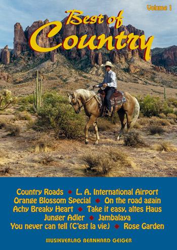 Best of Country Band 1: für Klavier (Keyboard, Akkordeon) mit Text