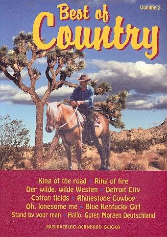 Best of Country Band 2: für Klavier (Keyboard, Akkordeon) mit Text
