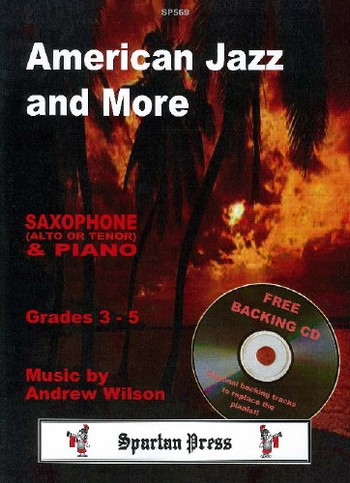 American Jazz and more (+CD): for saxophone (alto or tenor)