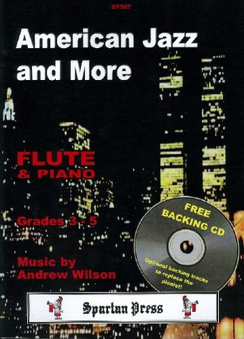 American Jazz and more (+CD): for flute and piano (Grades 3-5)
