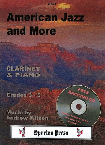 AMERICAN JAZZ AND MORE (+CD): FOR CLARINET AND PIANO