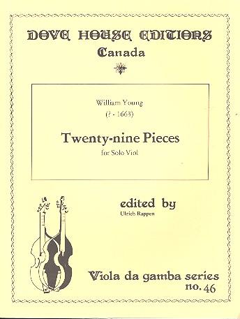29 Pieces: for solo viol (viola da gamba)