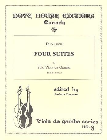 4 Suites: for solo viola da gamba
