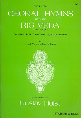 Choral Hymns from the Rig Veda vol.3: for female voices and harp (or piano)