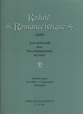 Kodaly, Zoltan - Romance lyrique : für