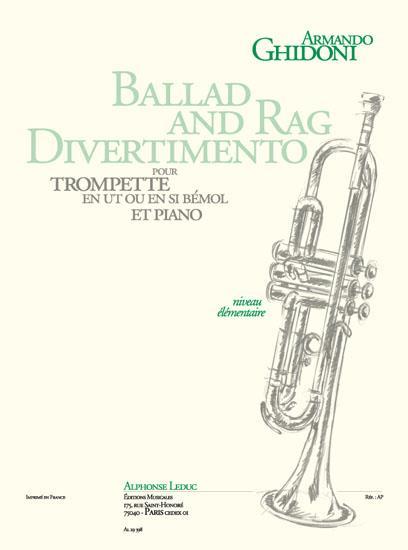 Ghidoni, Armando - Ballad and Rag Divertimento :