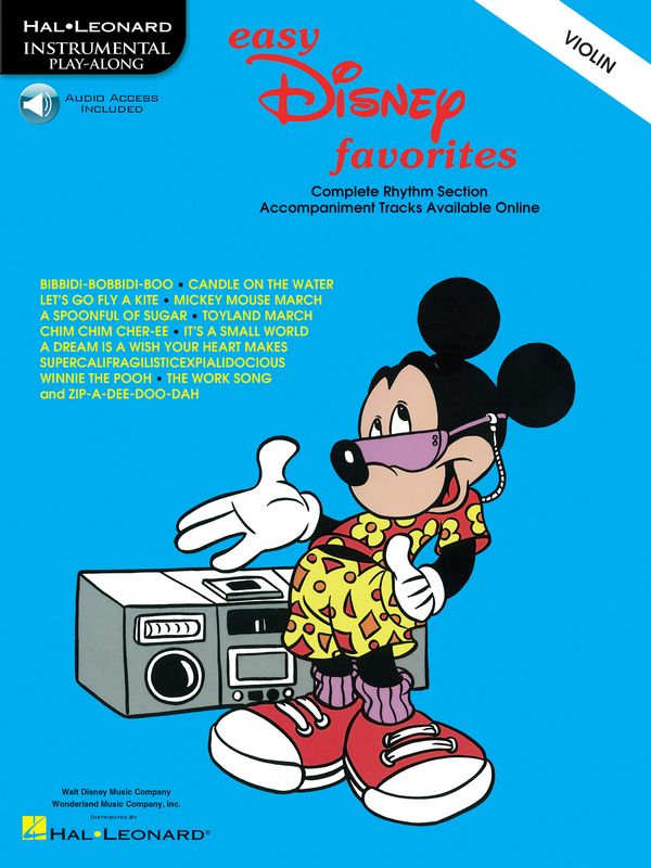 Easy Disney Favorites (+CD): for violin