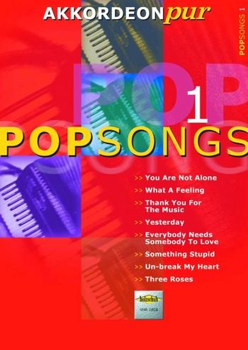 - Popsongs Band 1 : für Akkordeon
