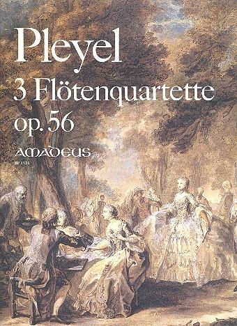 3 Quartette op.56: für Flöte und Streichquartett