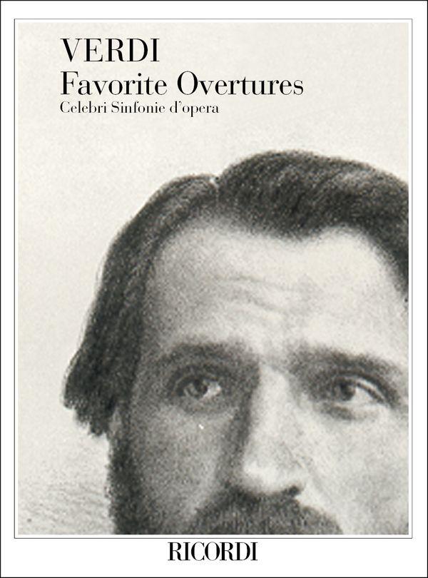 Verdi, Giuseppe - Favorite Overtures : for orchestra