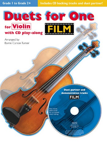 Duets for One (+CD): Film Tunes for violin