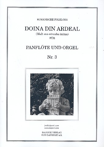 Doina din ardeal: für Panflöte und Orgel