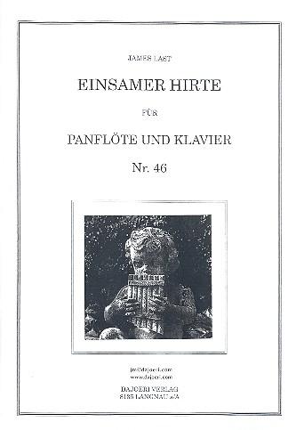 Einsamer Hirte: für Panflöte und Klavier
