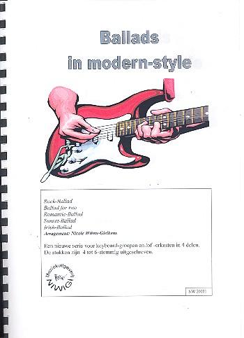 Ballads in modern Style: für 4-6 Keyboards (Keyboardgruppe-