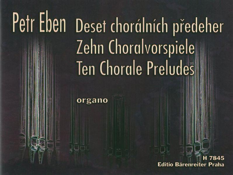 10 Choralvorspiele: für Orgel