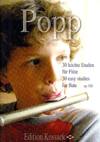 Popp, Wilhelm - 30 leichte Etüden aus op.520 :