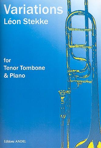 Variations opus.24: pour trombone tenor et piano ou orchestre (1942)