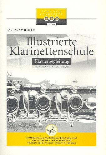 Illustrierte Klarinettenschule Band 1: Klavierbegleitung