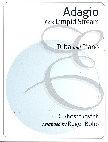 Adagio from The Limpid Stream opus.39: for tuba and piano