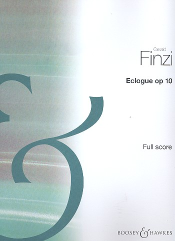 Eclogue: for piano and string orchestra