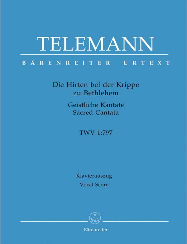 Telemann, Georg Philipp - Die Hirten bei der Krippe TWV1:797 :