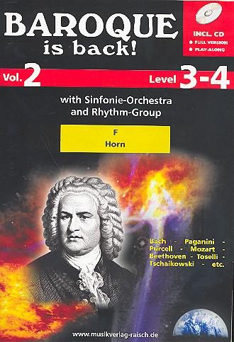 - Baroque is back vol.2 (+CD) :