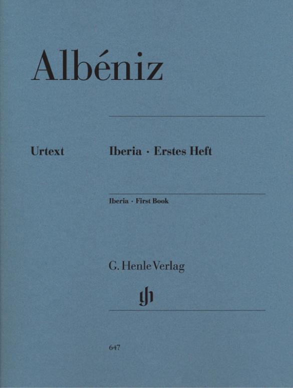 Albéniz, Isaac Manuel - Iberia Band 1 : für Klavier