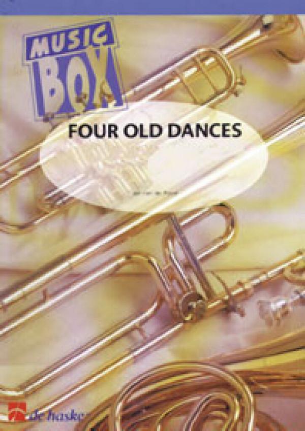 4 old dances: viersätzige Suite für 4 Holzbläser