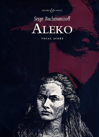 Aleko: vocal score (rus/en/dt/fr)