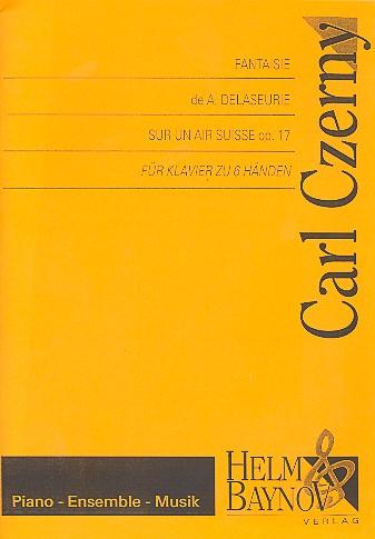 Czerny, Carl - Fantaisie de a : delaseurie