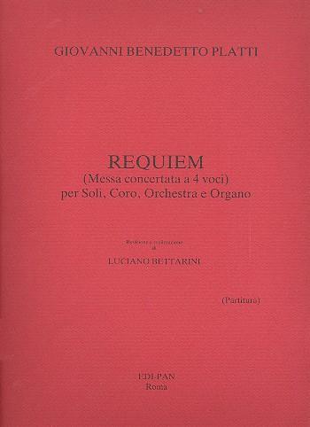 Requiem: per soli, coro misto, orchestra e organo