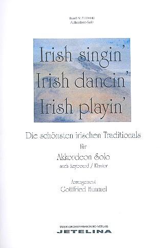 - Irish Singin' Irish Dancin'