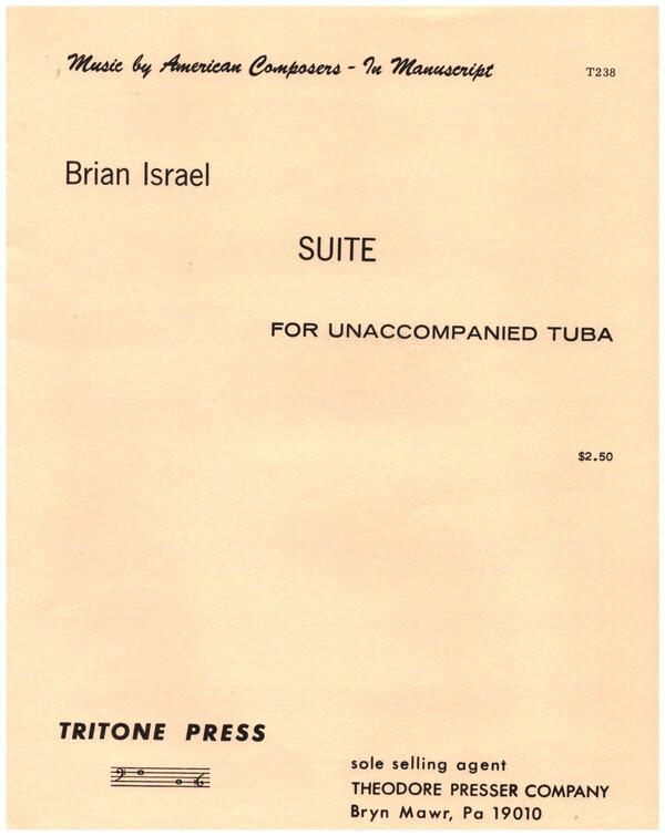 Suite for unaccompanied tuba