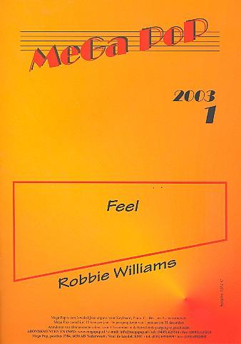 Feel: Einzelausgabe für C-Instrument mit Klavierbegleitung