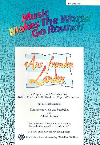 Aus fremden Landen: für flexibles Ensemble Posaune in B