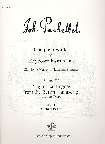 Magnificat Fugues from the Berlin Manuscript: for keyboard instruments