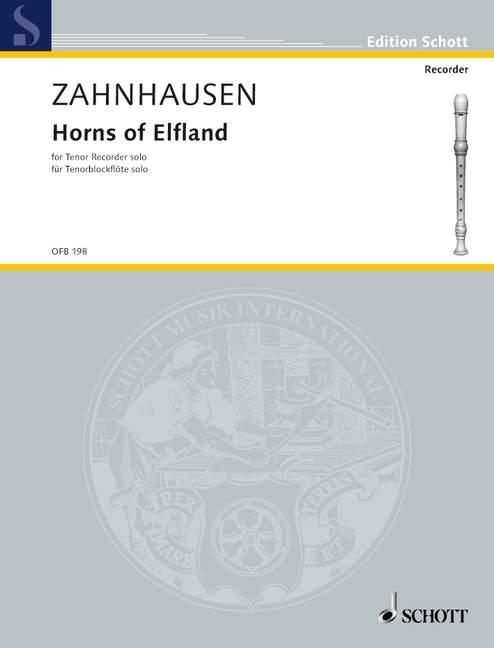 Horns of Elfland: für Tenorblockflöte solo